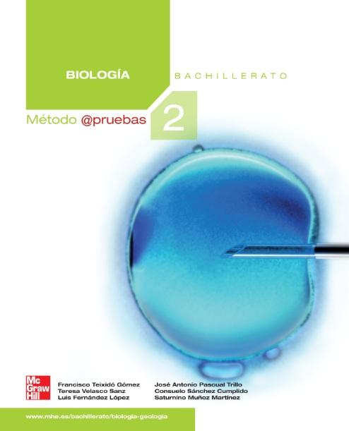 Solucionario Biologia 2 Bachillerato Mc Graw Hill