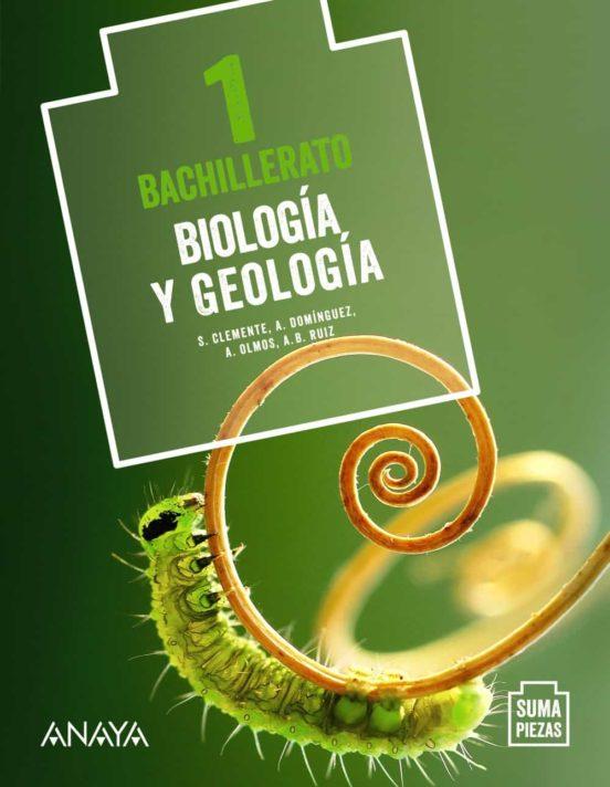 Solucionario Biologia y geologia 1 Bachillerato Anaya