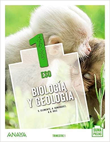 Solucionario Biologia y Geologia 1 ESO Anaya