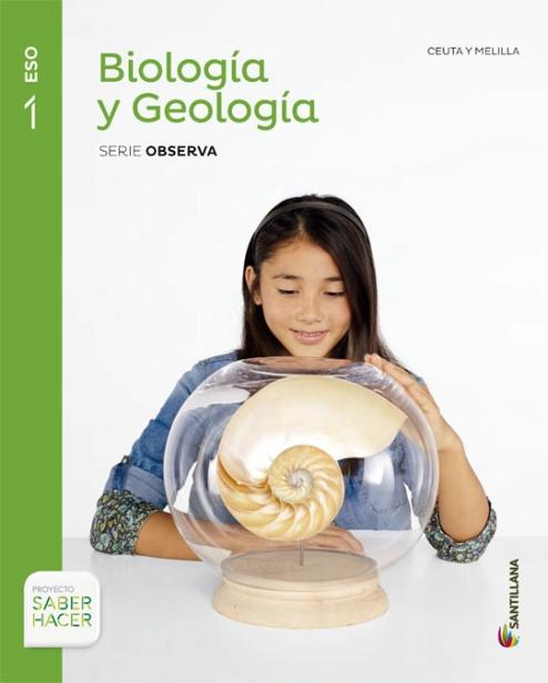 Solucionario Biologia y Geologia 1 ESO Santillana