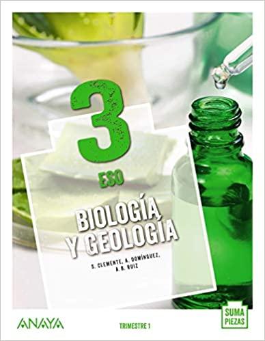 Solucionario Biologia y Geologia 3 ESO Anaya