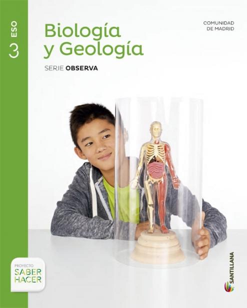 Solucionario Biologia y Geologia 3 ESO Santillana
