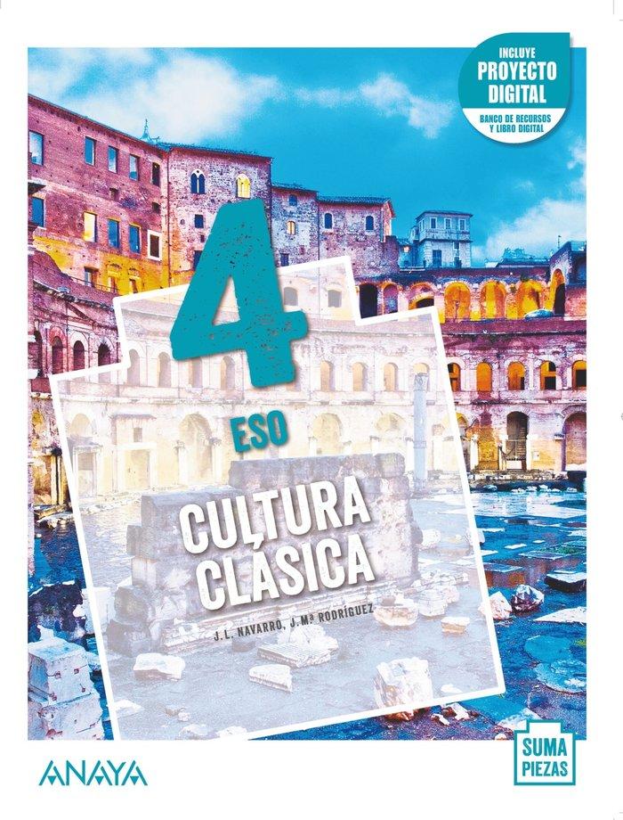 Solucionario Cultura Clasica 4 ESO Anaya