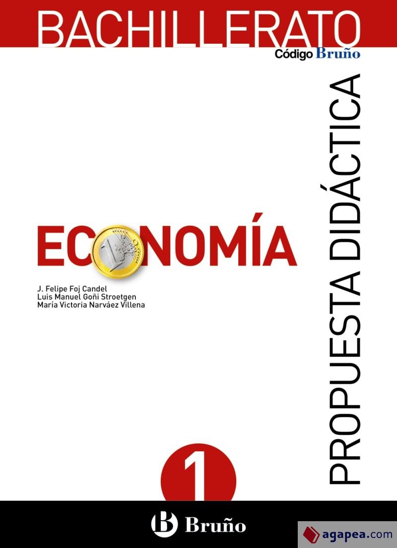 Solucionario Economia 1 Bachillerato Bruño
