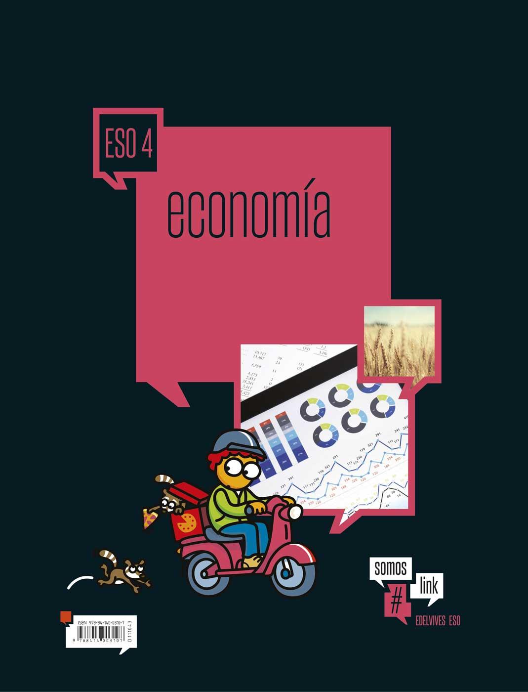 Solucionario Economia 4 ESO Edelvives