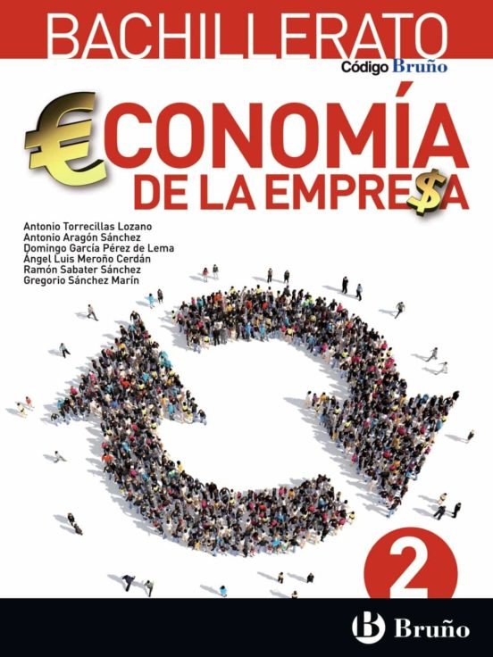 Solucionario Economia de la empresa 2 Bachillerato Bruño