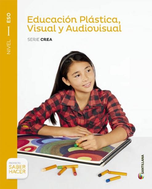 Solucionario Educacion Plastica y Visual 1 ESO Santillana