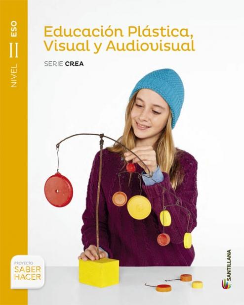 Solucionario Educacion Plastica y Visual 2 ESO Santillana