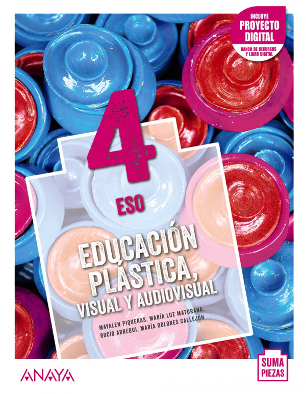 Solucionario Educacion Plastica y Visual 4 ESO Anaya