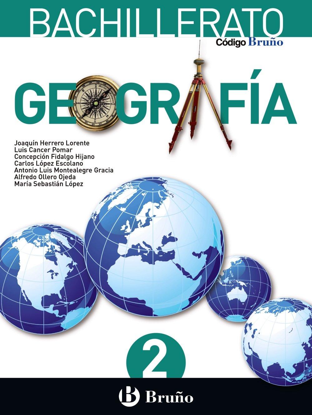 Solucionario Geografia 2 Bachillerato Bruño