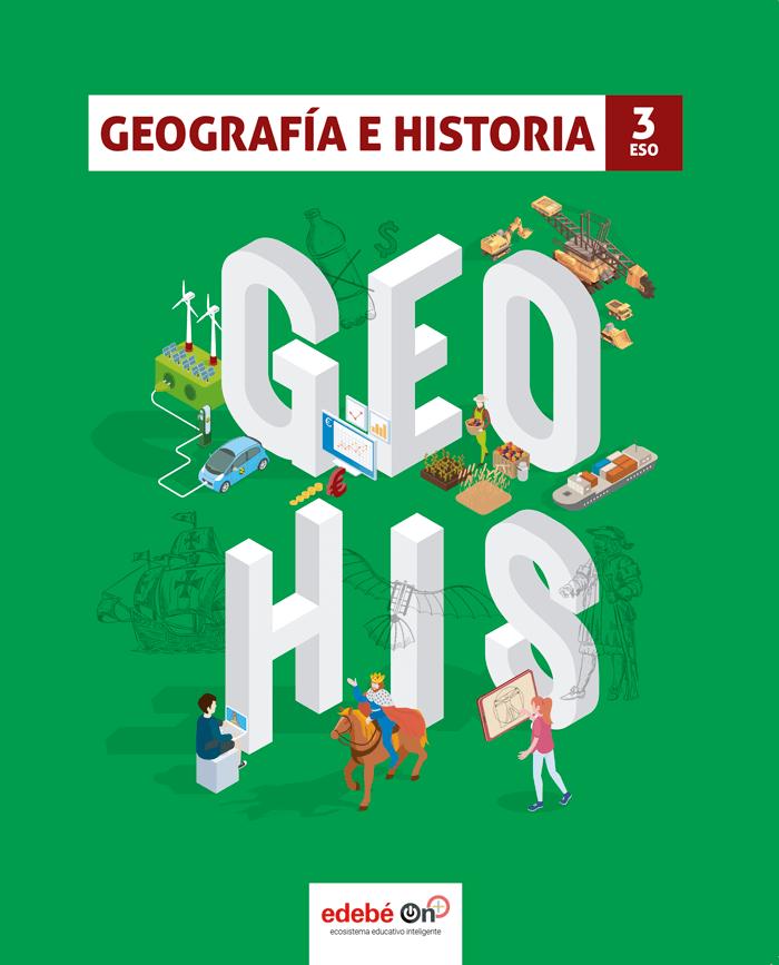 Solucionario Geografia e Historia 3 ESO Edebe