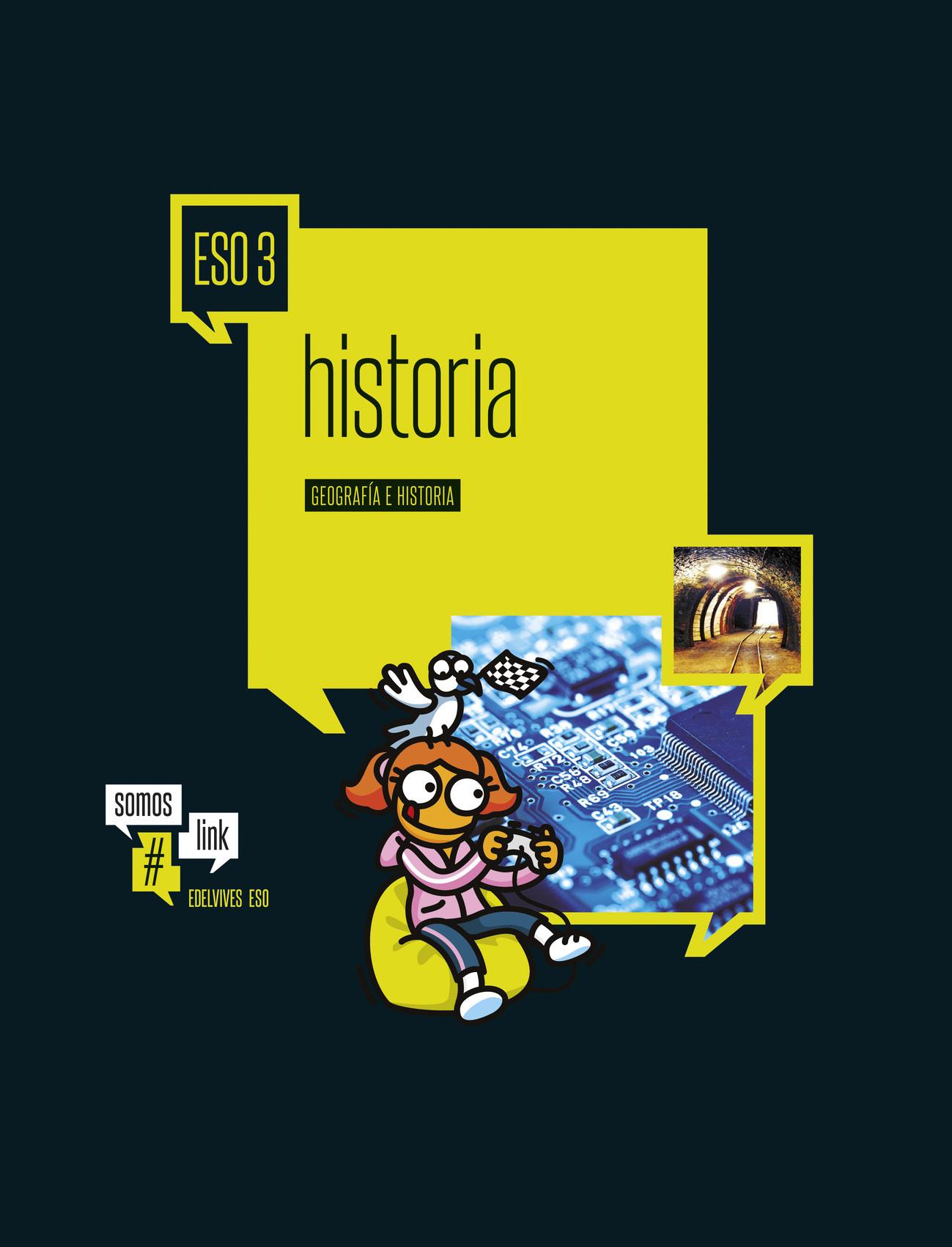 Solucionario Geografia e Historia 3 ESO Edelvives