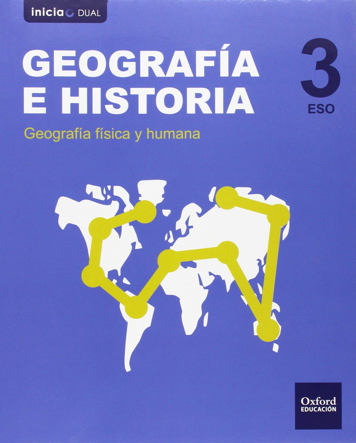 Solucionario Geografia e Historia 3 ESO Oxford