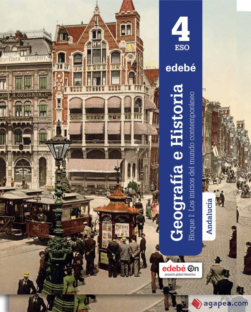 Solucionario Geografia e Historia 4 ESO Edebe