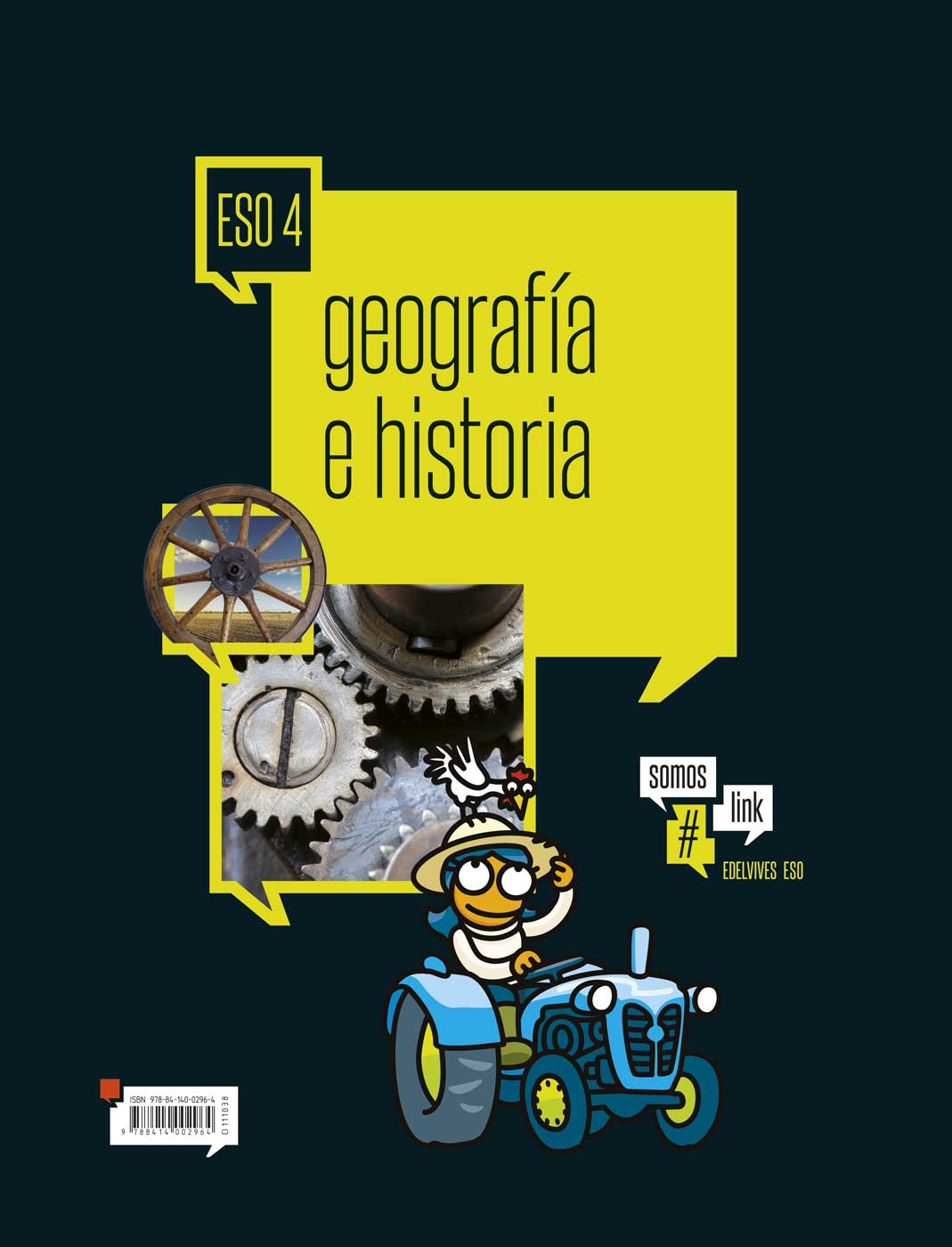 Solucionario Geografia e Historia 4 ESO Edelvives