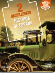 Solucionario Historia de España 2 Bachillerato Anaya