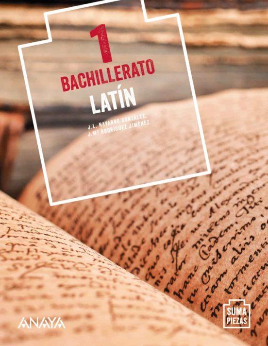Solucionario Latin 1 Bachillerato Anaya