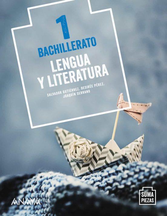 Solucionario Lengua y Literatura 1 Bachillerato Anaya