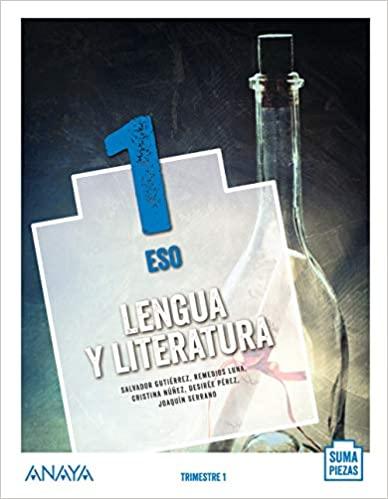 Solucionario Lengua y Literatura 1 ESO Anaya