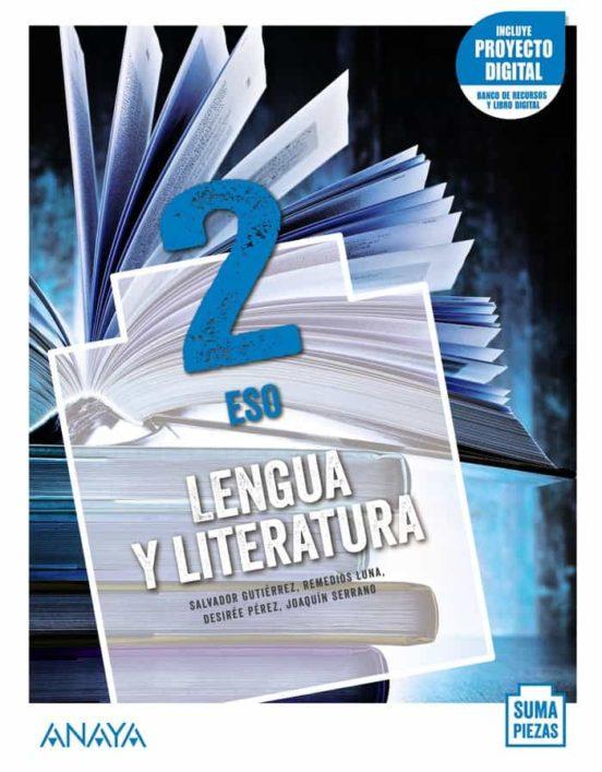 Solucionario Lengua y Literatura 2 ESO Anaya