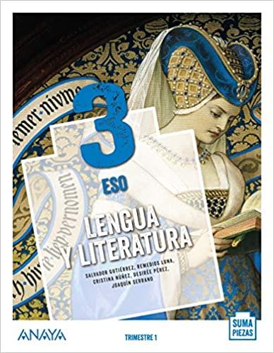 Solucionario Lengua y Literatura 3 ESO Anaya