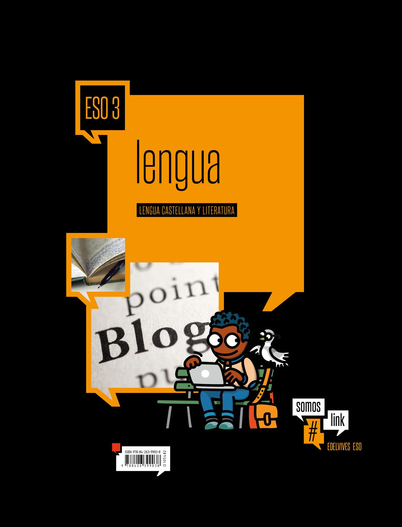 Solucionario Lengua y Literatura 3 ESO Edelvives