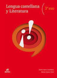 Solucionario Lengua y Literatura 3 ESO Editex
