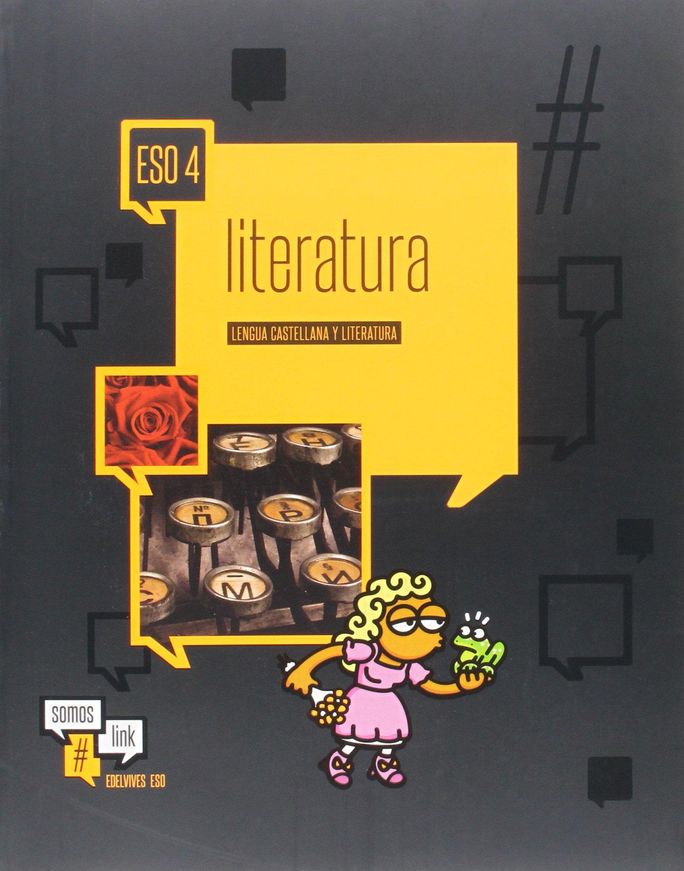Solucionario Lengua y Literatura 4 ESO Edelvives