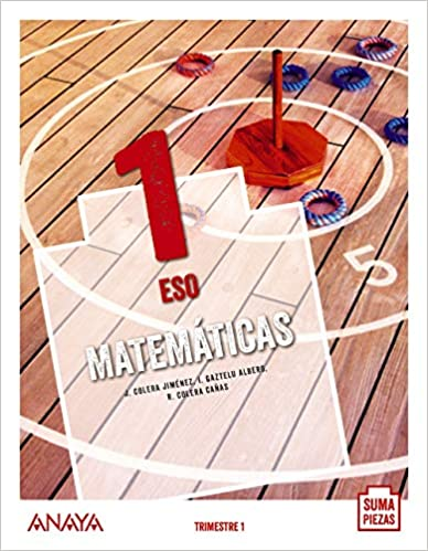Solucionario Matematicas 1 ESO Anaya
