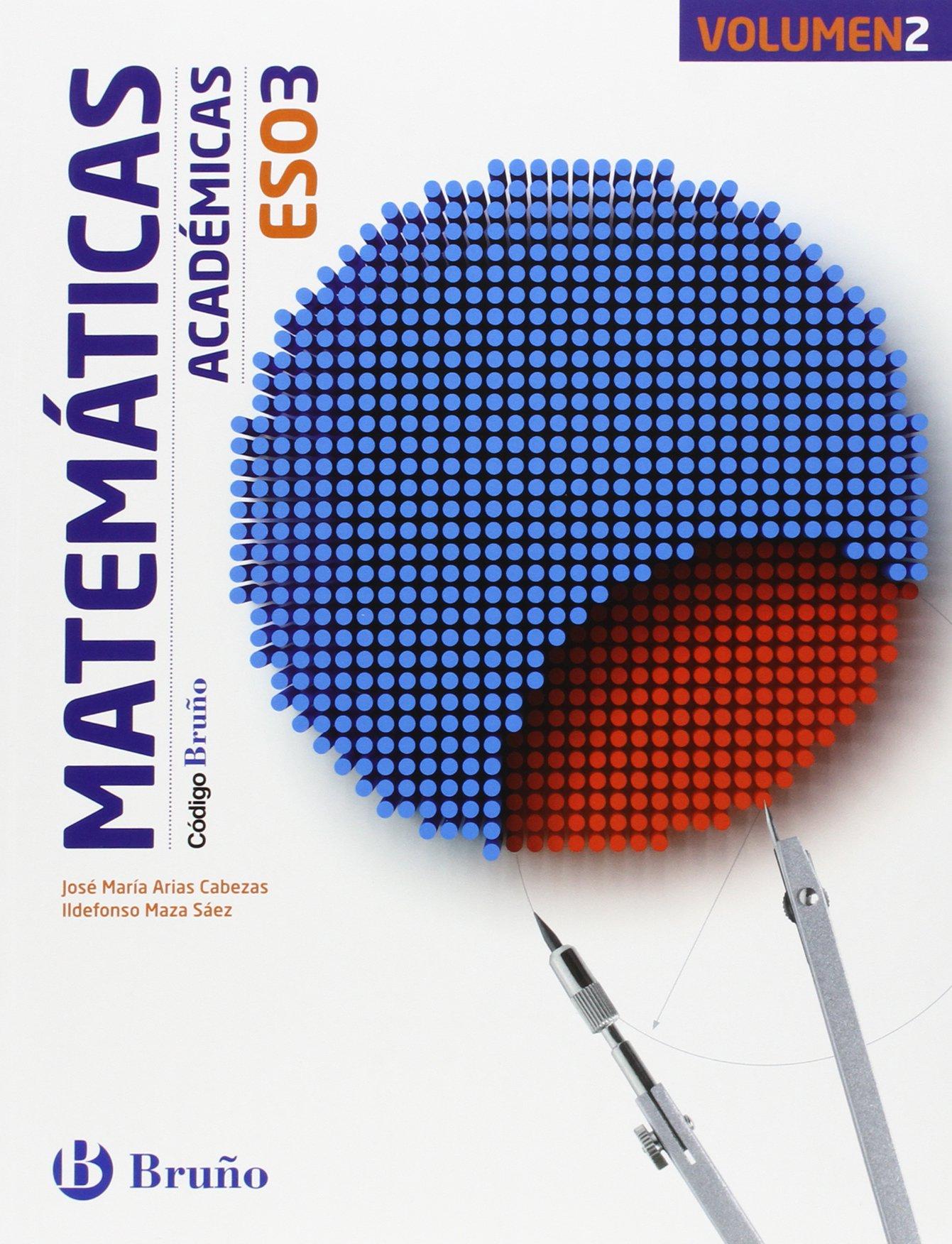 Solucionario Matematicas Academicas 3 ESO Bruño