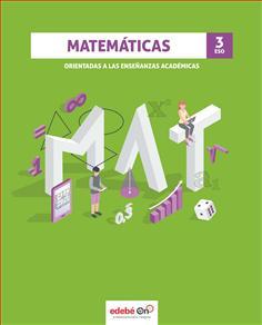 Solucionario Matematicas Academicas 3 ESO Edebe