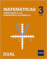 Solucionario Matematicas Academicas 3 ESO Oxford
