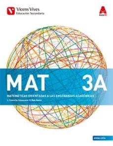 Solucionario Matematicas Academicas 3 ESO Vicens Vives