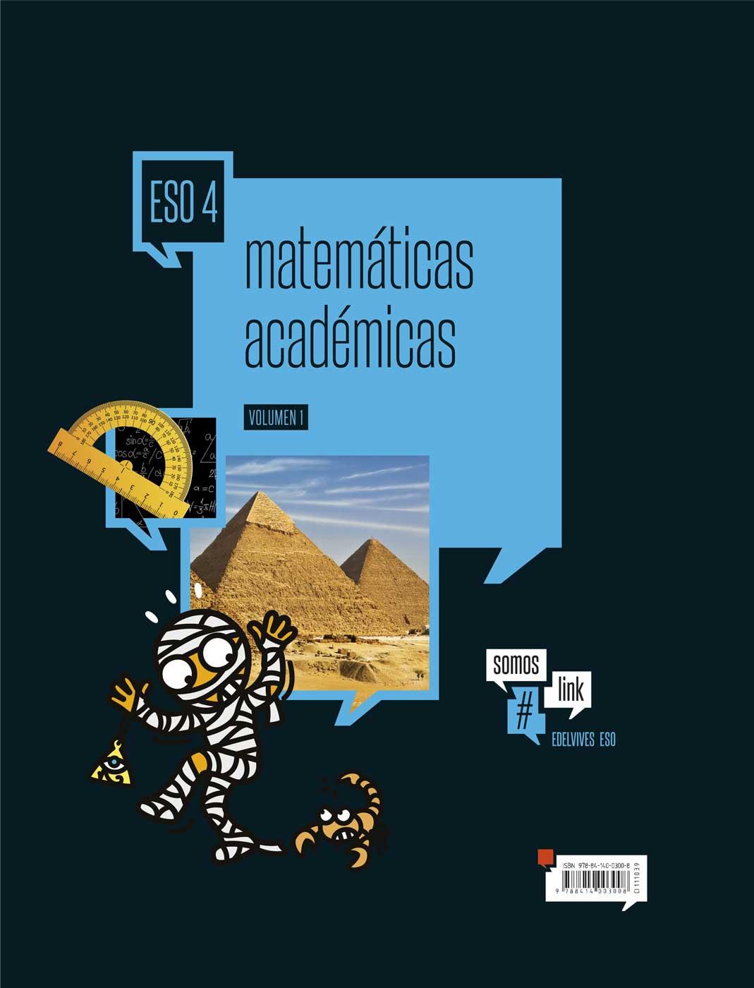 Solucionario Matematicas Academicas 4 ESO Edelvives