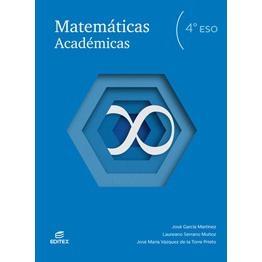 Solucionario Matematicas Academicas 4 ESO Editex