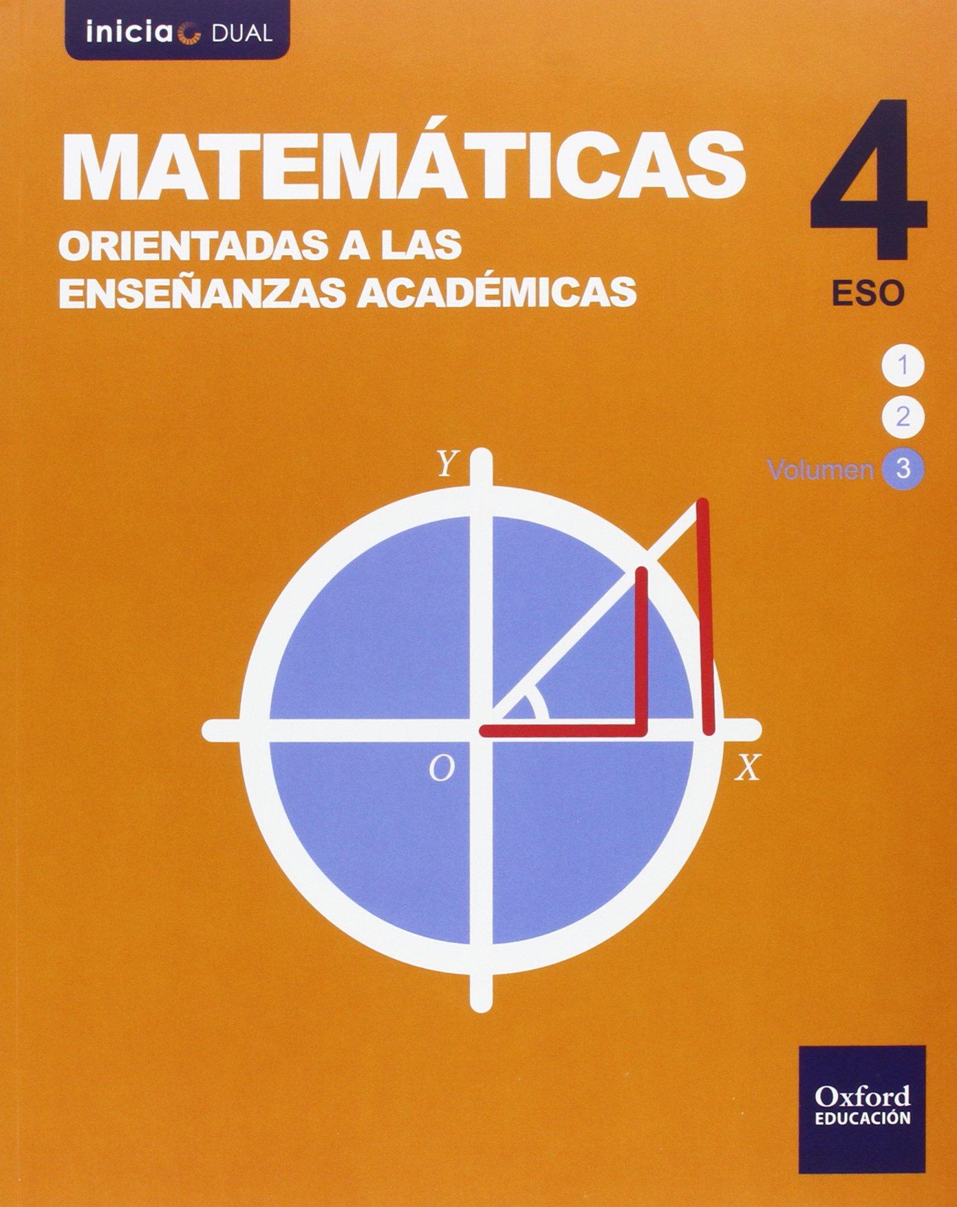 Solucionario Matematicas Academicas 4 ESO Oxford