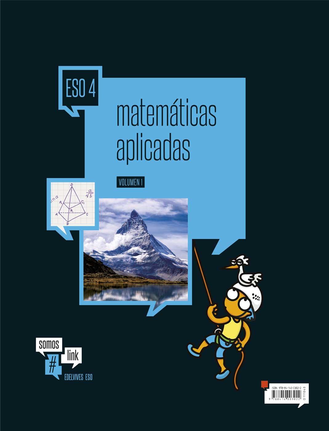 Solucionario Matematicas Aplicadas 4 ESO Editex