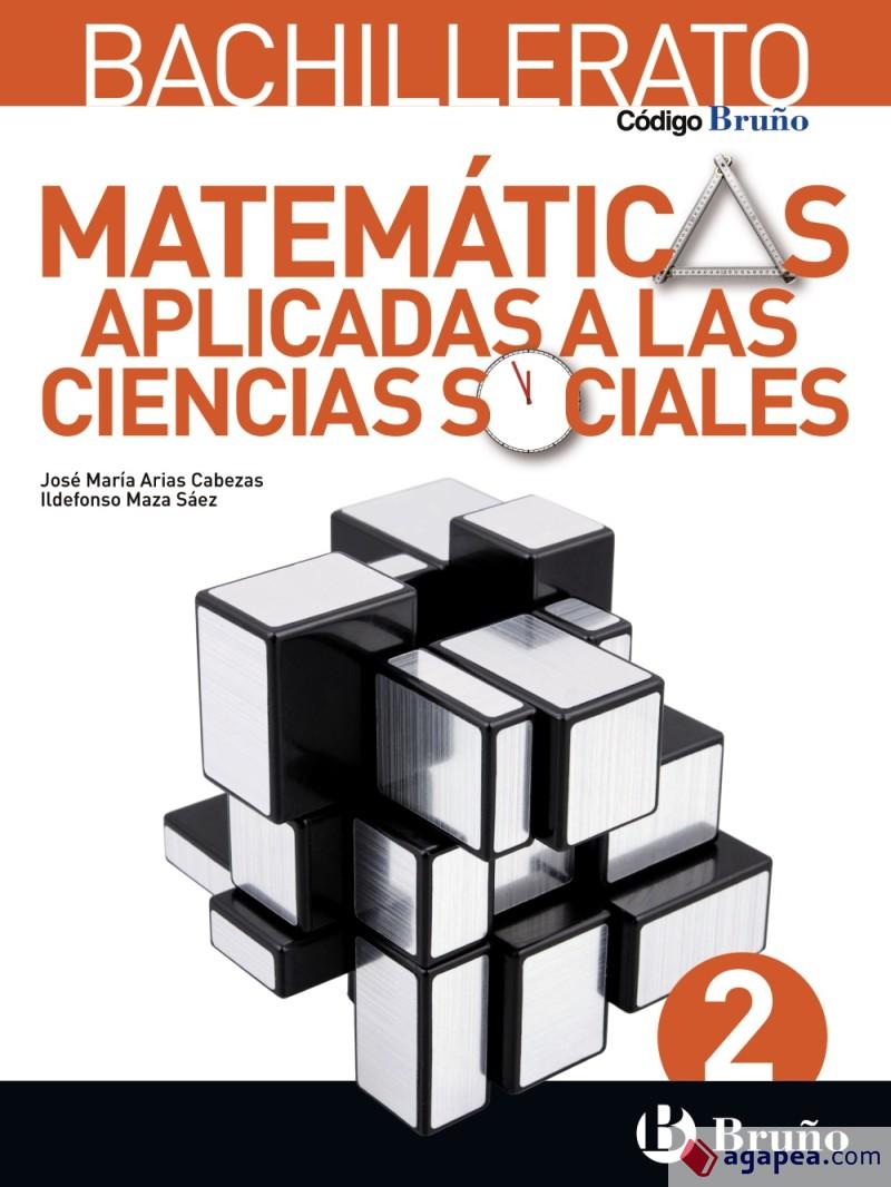 Solucionario Matematicas Aplicadas a las Ciencias Sociales II 2 Bachillerato Bruño