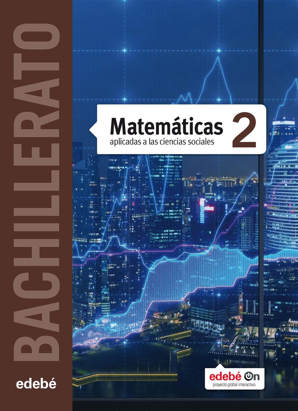 Solucionario Matematicas Aplicadas a las Ciencias Sociales II 2 Bachillerato Edebe