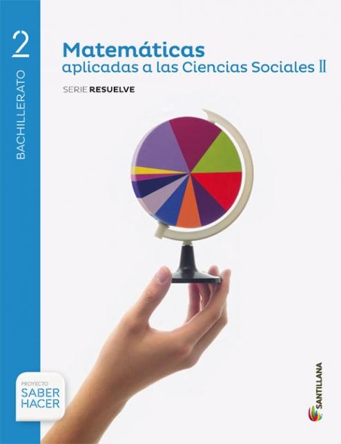 Solucionario Matematicas Aplicadas a las Ciencias Sociales II 2 Bachillerato Vicens Vives