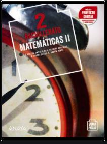 Solucionario Matematicas II 2 Bachillerato Anaya